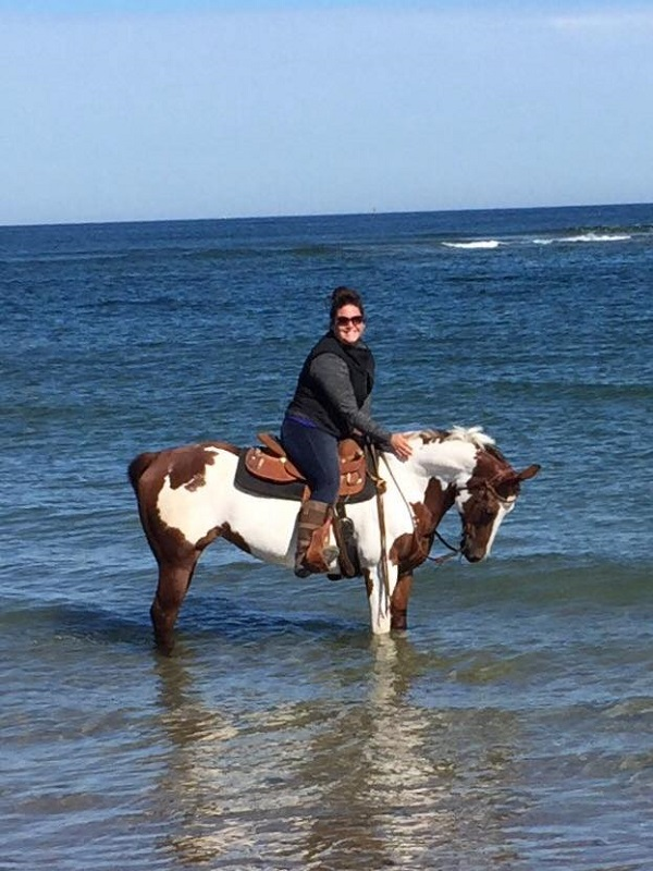 Riding Horses at the Beach 2016